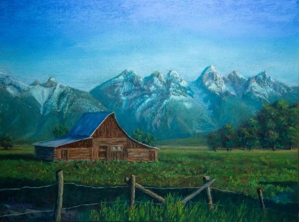 Sunrise On The Moulton Barn Art | Mark Grasso Fine Art