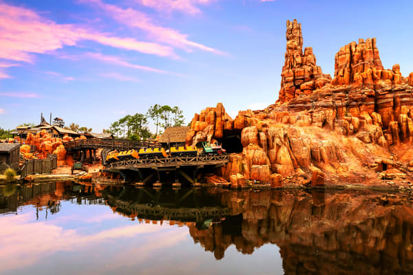Big Thunder Mountain Reflections - Magic Kingdom Pictures