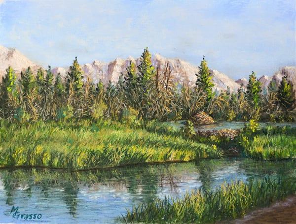 Beaver Dam At Schwabachers Landing Art | Mark Grasso Fine Art