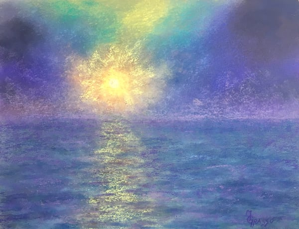 Misty Sunrise Art | Mark Grasso Fine Art