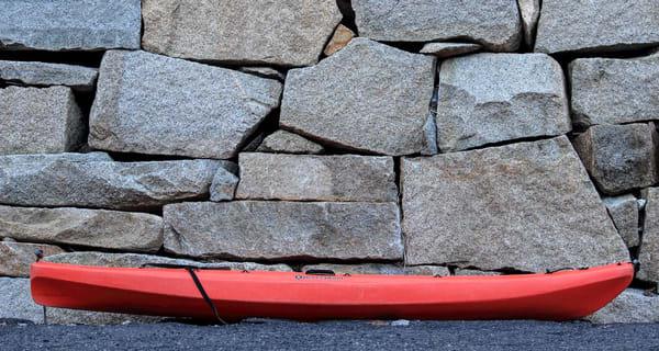 Rock Kayak Art   capeanngiclee