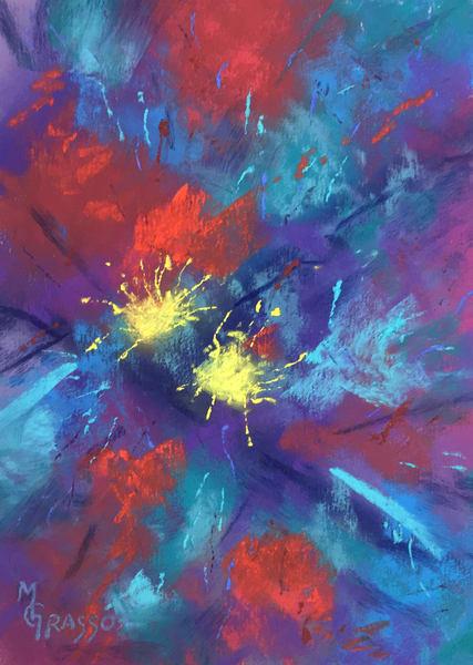 Starburst Art | Mark Grasso Fine Art