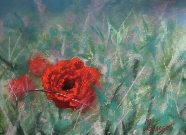 Poppies Art | Mark Grasso Fine Art