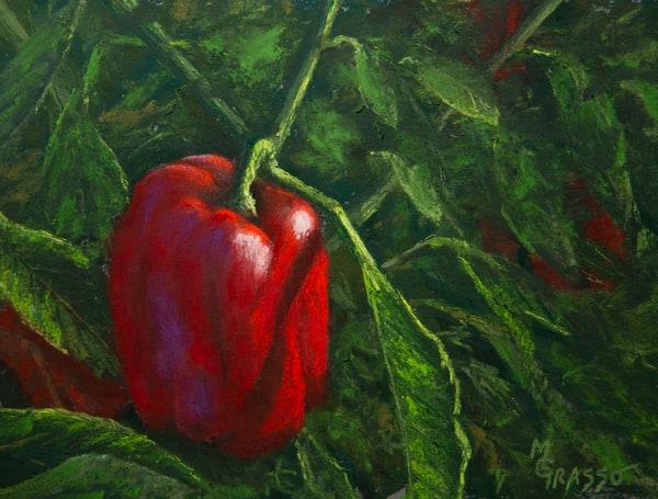 Red Peppers Art | Mark Grasso Fine Art