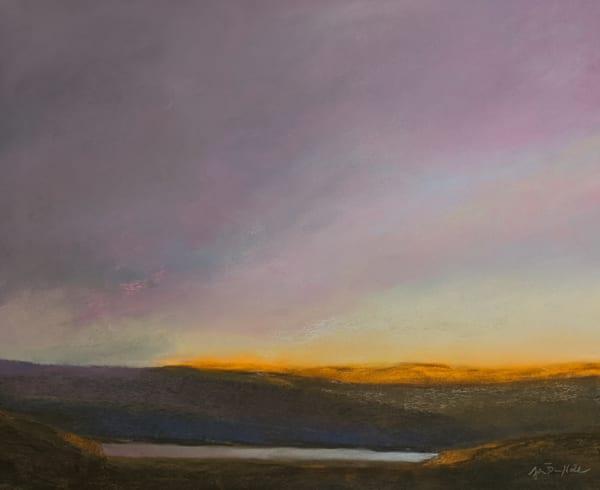 The sunlit horizon Art by John Davis Held Fine Art