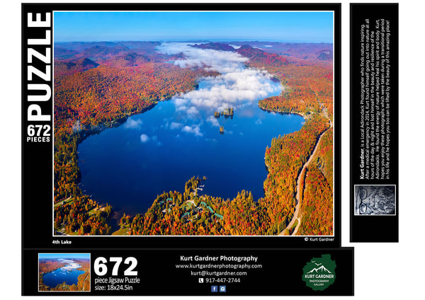 (Sold Out) 4th Lake Fall Puzzle | Kurt Gardner Photogarphy