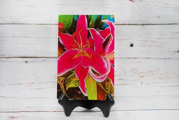 Lilies Metal Print   draphotography