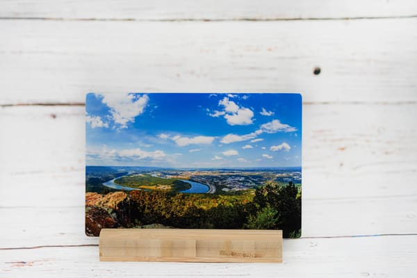 Moccasin Bend Metal Print | draphotography