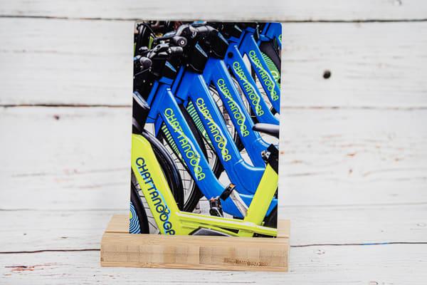 Chattanooga Bicycle Metal Print | draphotography