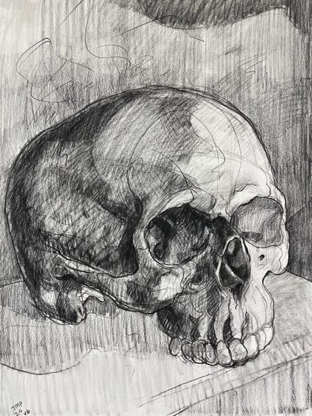 Original Artwork | Skull V.6 Art | Matt Pierson Artworks