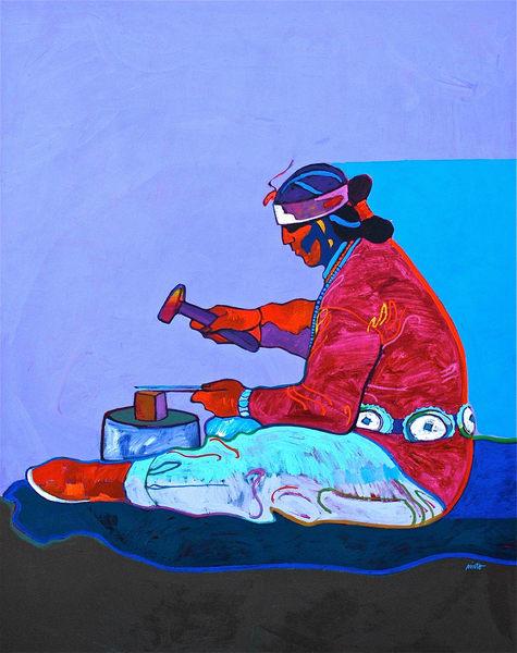 Platero Navajo- Original Painting