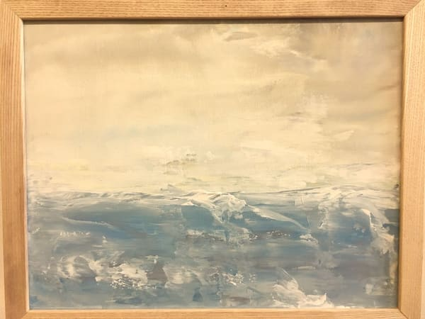 Stormy Sea Art   Holly Whiting Art