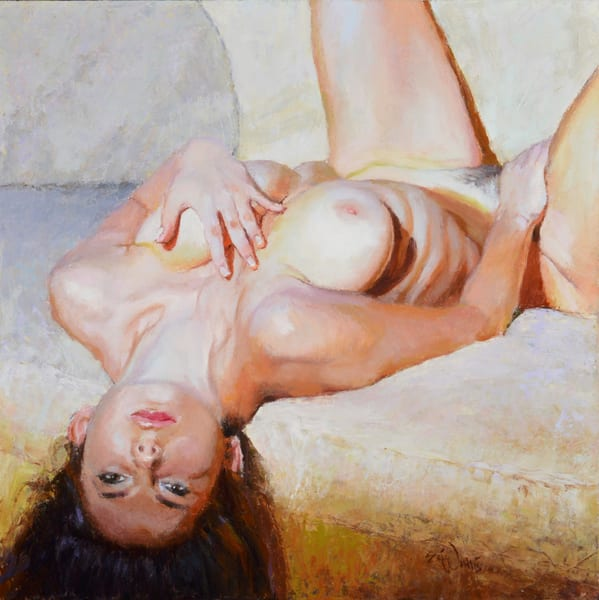Girl on my Couch by Eric Wallis
