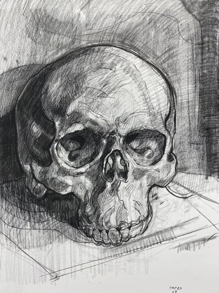 Original Artwork | Skull V.7 Art | Matt Pierson Artworks