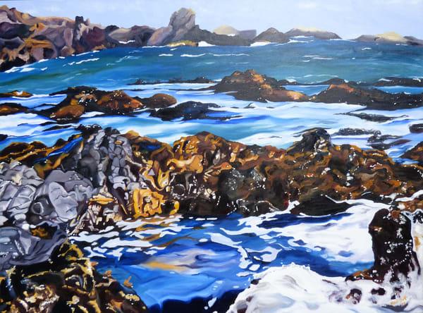 Coastal Pools painting