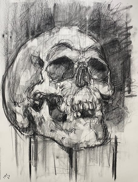Original Artwork | Skull V.1 Art | Matt Pierson Artworks
