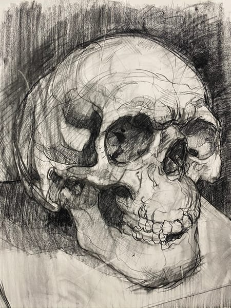 Original Artwork | Skull V.2 Art | Matt Pierson Artworks