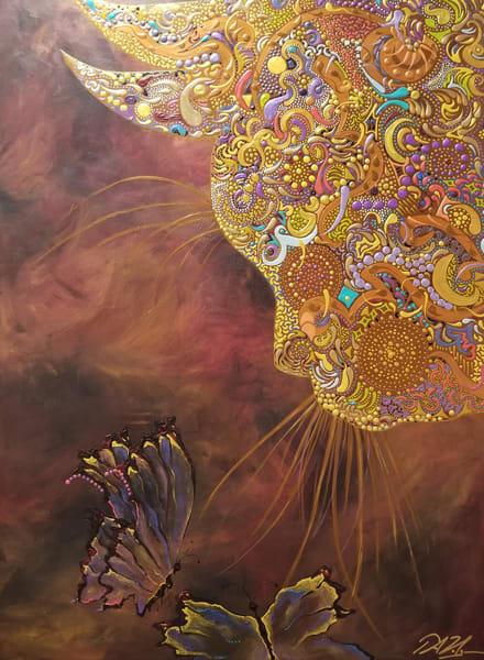 Enlightened Kitty Art | TAVolgenau