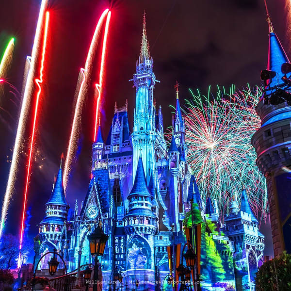Happily Ever After 58 - Disney World Photographs