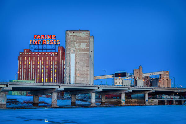 Farine Five Roses Flour Mill - Prints