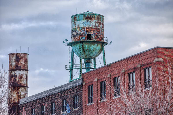 The Old Water Tower - Prints