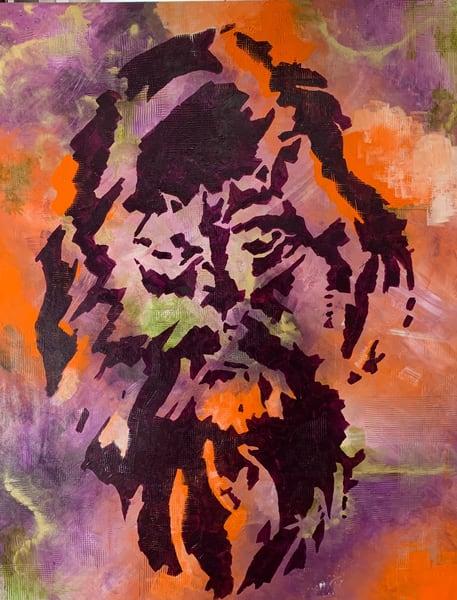 Lion Of Judah! Art   TEMI ART, LLC.