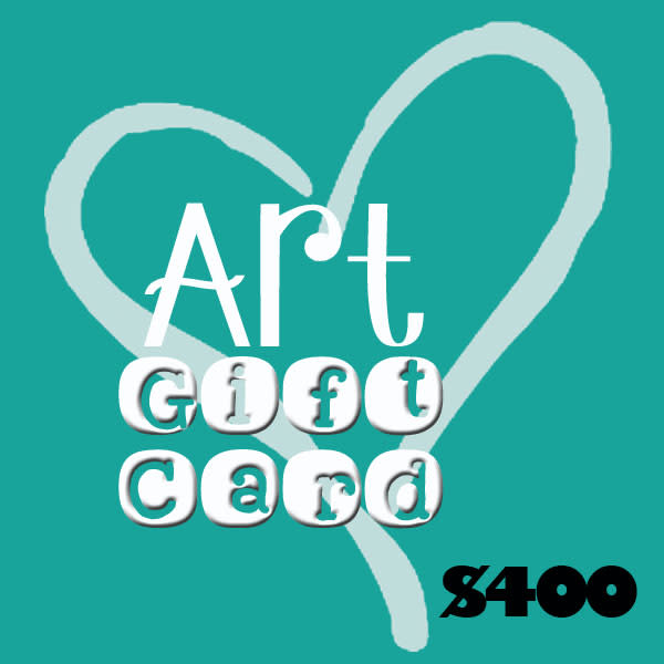 $400 Gift Card Art by Dorothy Fagan