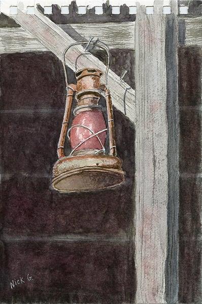 Lonewolf Lantern Art | Cincy Artwork