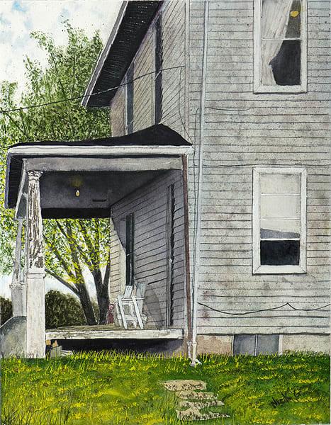 Front Porch View Art | Cincy Artwork