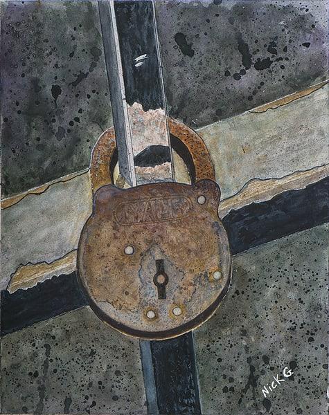 Sharon's Lock Art | Cincy Artwork