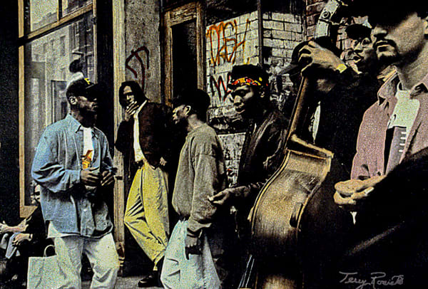 Jamming- Musicians in New York City by Terry Rosiak