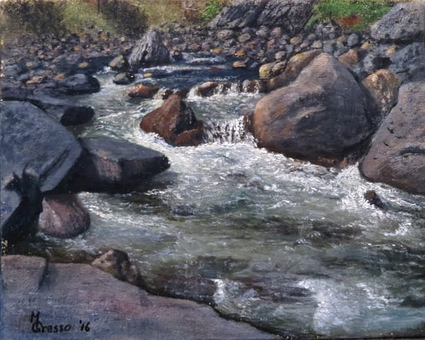 Poudre River Art | Mark Grasso Fine Art