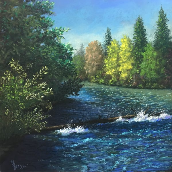 Spring Rapids Art | Mark Grasso Fine Art