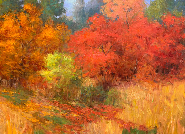 Original landscape paintings available by Eric Wallis.