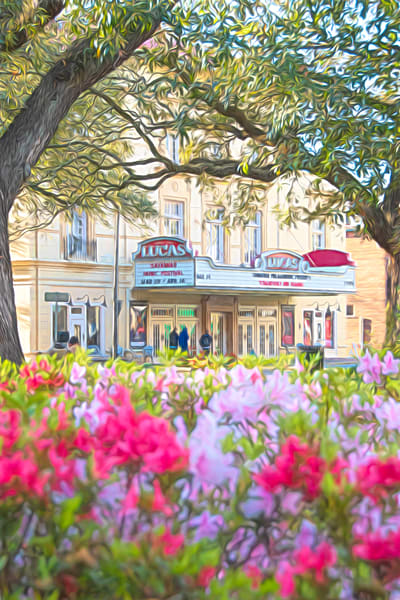Historic Lucas Theatre Photography Art | Pam Phillips Photography