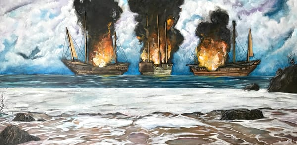 Burn The Ships Art | thomaselockhart
