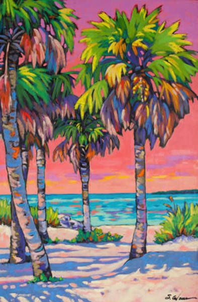 Pinellas Dusk | Sally C. Evans Fine Art