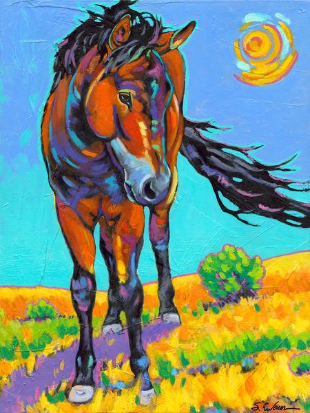 Mustang | Sally C. Evans Fine Art