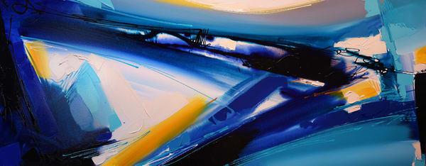 Blue Wave 2 Art | Michael Mckee Gallery Inc.