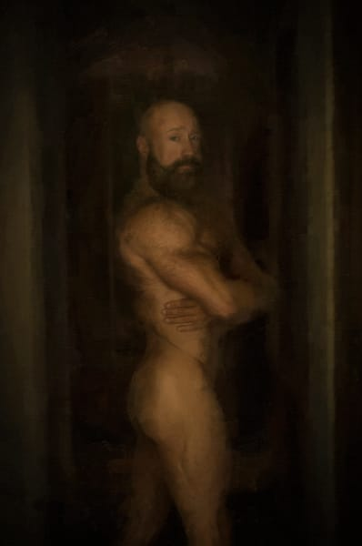 In The Shadows, men of a certain age, Ben Fink art prints, photo