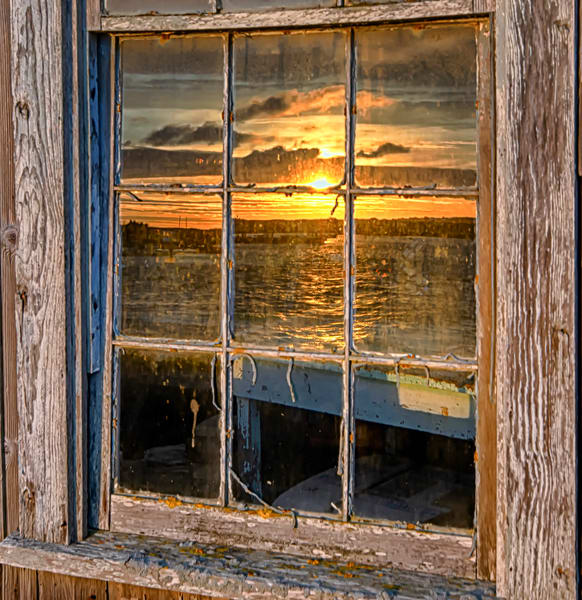 Menemsha Sunset Window