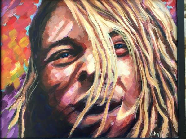 Kurt Cobain Art | Holly Whiting Art