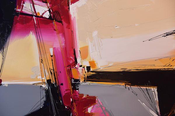 Magenta Fugue Art | Michael Mckee Gallery Inc.