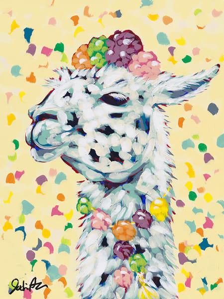 Llama Drama Yellow is the third in Jodi Augustine Art's Drama Llama Series.