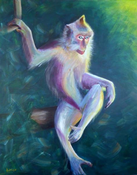 Monkey Attitude Art | Limor Dekel Fine Art