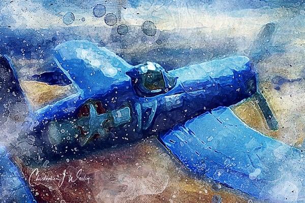Blue Beast - Watercolor Remix