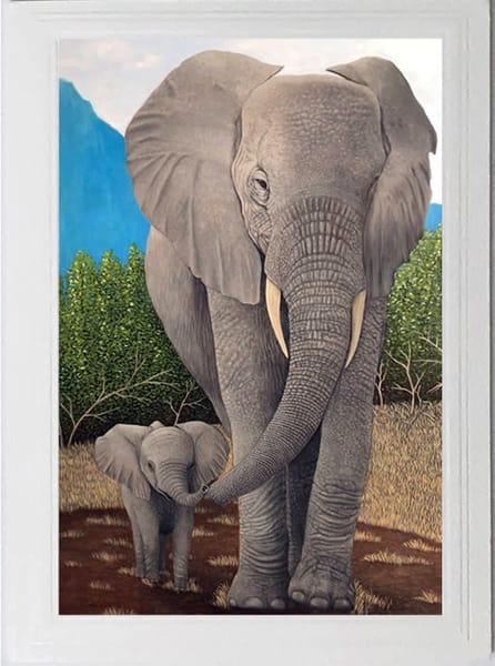 Trozzo Elephant Card