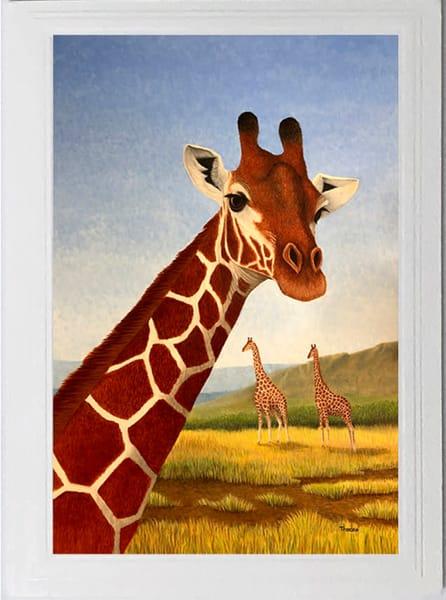 Trozzo Giraffe Card