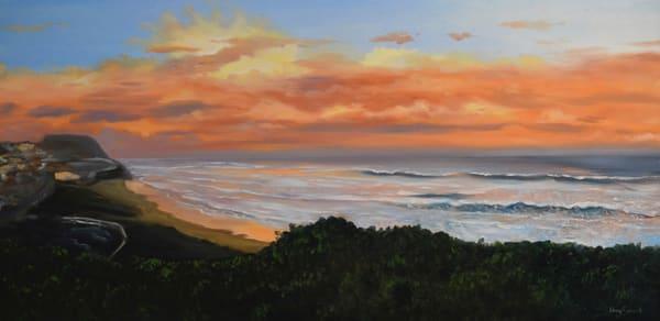 Bar Beach - Sunset Waters