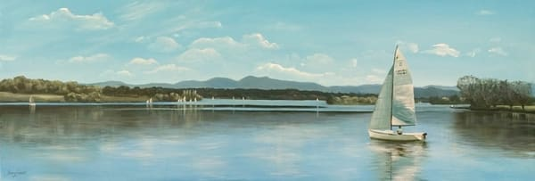 Lake Burley Griffin - Sail Boat